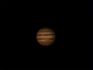 First Attempt at imaging Jupiter, this will improve!