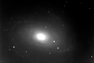 Messier 81, about 5 times as far away as Andromeda.